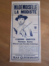 MADEMOISELLE MODISTE Corinne Griffith Argentina 1926 poster