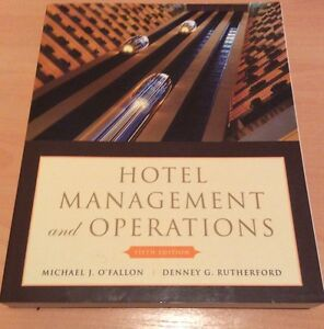 Hotel Management and Operations - Fifth Edition