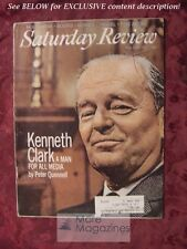 Saturday Review August 28 1971 KENNETH CLARK PETER QUENNELL YOUSUF KARSH