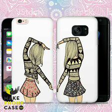 BFF Best Friends Phone Case Cover For Apple iPhone Samsung Galaxy Huawei Modell