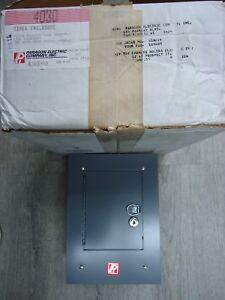 New Paragon Electric 4030 Timer Enclosure Electrical Safety Metal Panel Box NIB