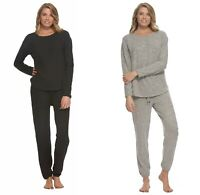 Felina Women 2-Piece Comfyz Lounge Pajama Set Crewneck Top & Jogger