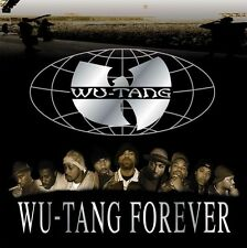 """WU-TANG CLAN Forever Album Cover Poster Decor Vintage 24X24"""""""