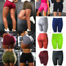 Women Sports Yoga Shorts Hip Push Up Ruched Gym Workout Fitness Casual Hot Pants