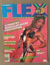 FLEX bodybuilding muscle magazine / CATHEY PALYO / 09-87