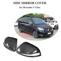 Carbon Spiegelkappen Spiegel Für Mercedes Benz V-Klasse Rückspiegel Mirror 16-18