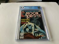 MOON KNIGHT 2 CGC 9.4 WHITE PAGES MARVEL COMICS 1980