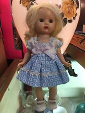 "Fabulous 1950s Nancy Ann Muffie Doll Kissable"" Dress-up Style Blonde"