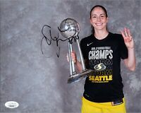 "~ SUE BIRD Authentic Hand-Signed ""WNBA ~ SEATTLE STORM"" 8x10 Photo (JSA COA) C~"