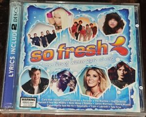 SO FRESH - THE HITS OF WINTER 2012 CD & DVD - FREE POST