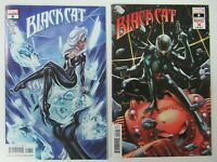 Marvel Comics 2020 Black Cat #8 Main + Anacleto Marvels X Variant NM