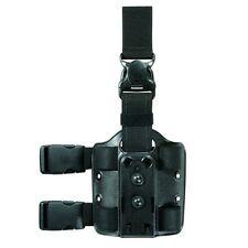 Safariland Double Strap Leg Shroud w/Quick Release  Black 6005-6-123