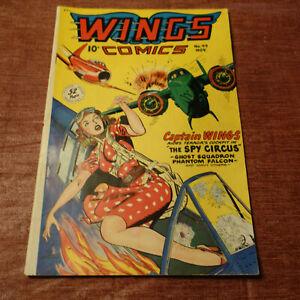 Wings Comics #99 Golden Age Fiction House NOVEMBER 1948 (kf)