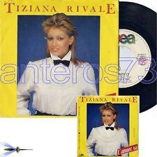 """TIZIANA RIVALE """"L'AMORE VA'"""" RARO 45GIRI 1983 - MINT"""