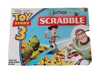 Scrabble Board Game Family Toy Story 3 Disney  Junior Version no instructions