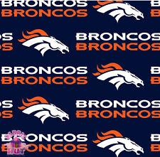 Denver Broncos NFL 100% Cotton Fabric 2507 D