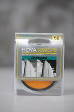 Hoya 58mm Orange (G) Multi-Coated filter