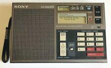 SONY ICF 7600DS Radio Mondiale Anthracite