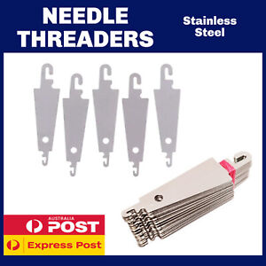 NEEDLE THREADERS | METAL | UNBREAKABLE | INSTRUCTIONS PROVIDED | SEWING NEEDLE