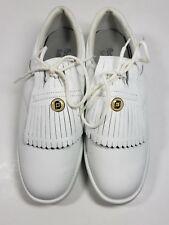 Foot Joy Soft Joys Womens Wide Golf Shoes 98863 Size 7.5 WIDE Kilted Lace Up