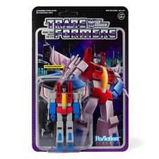 Transformers Starscream Decepticon 3 3/4 Inch ReAction Wave 1 Figur Super7