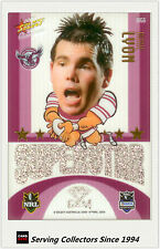 2009 Select NRL Champions Superstar Acetate Mascot Gem Card MG6 Jamie Lyon