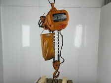 Harrington Es3b 5641 3 Ton 460v 1755 Fpm Two Speed Chain Hoist