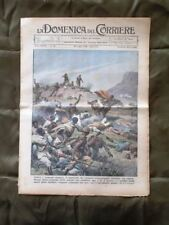 La Domenica del Corriere 26 Luglio 1936 Briganti Torpedone Urto Il Re Imperatore