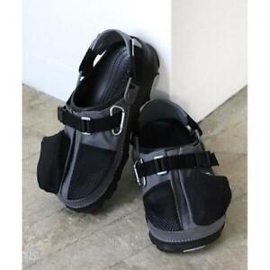 Crocs Beams exclusive Classic All Terrain Clog Sandals Black US7 Japan limited