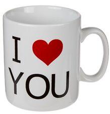 Porzellanbecher I Love You Ca. 13 X 11 Cm