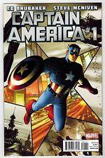 CAPTAIN AMERICA #1 - ED BRUBAKER - STEVE McNIVEN COVER - 2011
