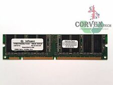 128MB Infineon HYS64V16300GU-7.5-C2 SDR SDRAM 133 PC133 Unbuffered 140133-001