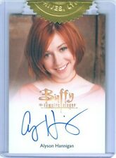 "ALYSON HANNIGAN ""WILLOW AUTOGRAPH"" BTVS BUFFY ULTIMATE COLLECTORS SET SERIES 2"