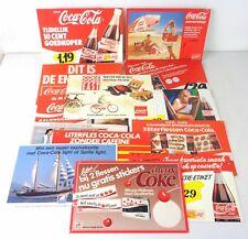 coca cola 16 cartelli pubblicitari holland anni 80
