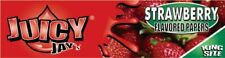 Juicy Jay's Strawberry Kingsize Slim Rolling Paper