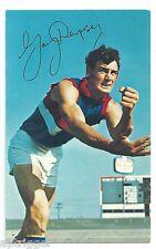 1971 Mobil Football Card (21 of 40) Gary DEMPSEY Footscray Near MINT