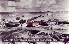 U.S. FIFTH ARMY DUCKS BEACHHEAD NEAR ANZIO, ITALY - 1944