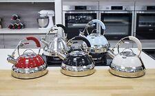 Premium Pfeifkessel Wasserkessel Teekessel Induktion Wasserkocher Retro 2 L