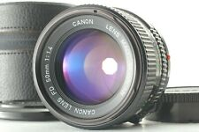 【MINT in Case】 Canon New FD 50mm f/1.4 NFD MF Manual Focus Lens From Japan ic501