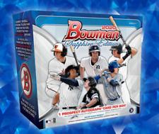 2020 BOWMAN SAPPHIRE EDITION BASEBALL LIVE RANDOM PLAYER 1 BOX BREAK #2