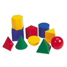 Learning Resources - Large Geometric Geosolids Plastic Shapes