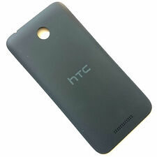 100% Genuine HTC Desire 510 rear battery cover Black back housing matt grey