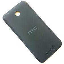 100% Genuine HTC Desire 510 rear battery cover Black back housing matt grey