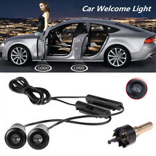 2pcs 4th Gen Car Projector Laser LED Door Welcome Step Ghost Shadow Logo Lights