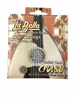La Bella Strings Oud 11 String Set Turkish Tuning Plain Nylon and Silver Wound