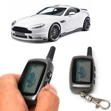 Security 2 Way Car Vehicle Alarm LCD Remote Controller Keychain For StarLine A9