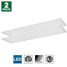Sunlite LED Light Panel, 1x4 Foot, 40W, 5000K Super White, Dimmable, 2-Pack