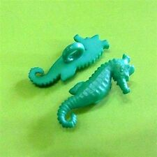 20 Walras Sea Horse Craft  Kid Novelty Sew On Button Scrapbooking Turquoise K663