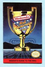 1990 Nintendo World Championship Powerfest Event Insider Guide Program NES era