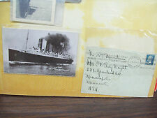 POSTCARD COLLECTION OF FAMOUS SHIPS THAT SANK